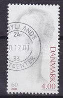 Denmark 2000 Mi. 1238   4.00 (Kr) Queen Königin Margrethe II 60th Geburtstag Birthday - Dänemark