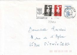 TP N° 2874c Sur Enveloppe  De Granville - 1961-....