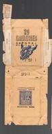 (tabac) Paquet De Cigarette (vide)  GAULOISES CAPORAL  Papier Crème (PPP19747) - Around Cigarettes