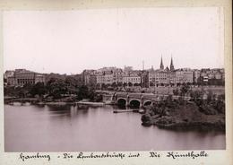 Albumen Photograph - Hamburg GERMANY - C.1890s (24 X 16cm) - Antiche (ante 1900)