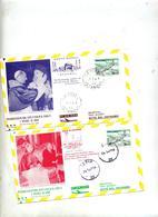 Lettre Cachet Voyage Du Pape - Lettres & Documents