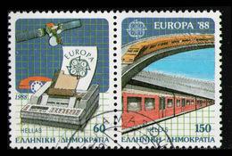 GREECE 1988 - Set Used - Gebraucht