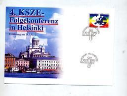 Lettre Cachet  Helsinki Conference - Cartas