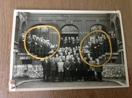 Auvelais Photo D'époque Société Anonyme Des Glaces - Cartes Postales