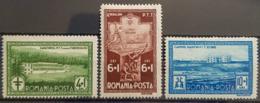 ROMANIA - MLH - Sc B37-B39 - 1918-1948 Ferdinand, Charles II & Michael