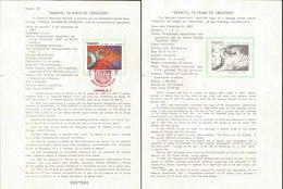 V) 1987 MEXICO, TAMAYO, 70 YEARS OF CREATION, FDB - Mexico