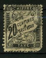 FRANCE   Timbre Taxe     N° Y&T TA17  (o) - 1859-1955 Gebraucht