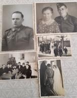 WW2 Lot De 5 Photos Soldat Wehrmacht Allemagne Freiburg Breisgau - War, Military