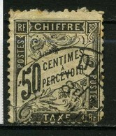 FRANCE   Timbre Taxe     N° Y&T TA20  (o) - 1859-1955 Gebraucht