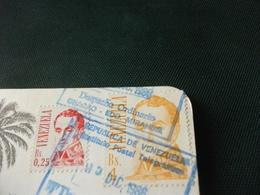 STORIA POSTALE  FRANCOBOLLO VENEZUELA LAGUNA NEGRA LOS ANDES EDO MERIDA - Venezuela