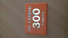 JETON FORAIN 300 POINTS RIO CARNIVAL - Seasons & Holidays