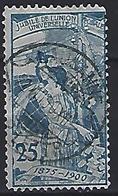 Switzerland 1900 25th Ann. Of UPU  Mi.75 (Plate 1) - 1882-1906 Coat Of Arms, Standing Helvetia & UPU