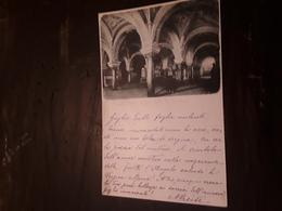 Cartolina Postale Illustrata 1899, Bari Cripta Della Real Basilica - Bari