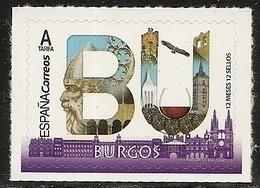 2019-ED. 5274 - 12 Meses, 12 Sellos. BURGOS -NUEVO - - 1931-Today: 2nd Rep - ... Juan Carlos I
