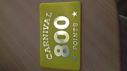 JETON FORAIN 800 POINTS CARNIVAL - Seizoenen En Feesten
