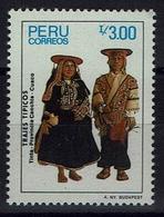 Peru 1986 - Trachten  Folk Costume - MiNr 1331 - Kostüme