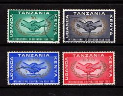 KENYA  UGANDA  TANZANIA    1965    ICY    Set  Of  4    USED - Kenya, Uganda & Tanganyika