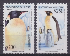 Chile 1992 Antarctica / Penguins 2v ** Mnh (44196D) - Zonder Classificatie