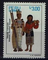 Peru 1987 - Trachten  Folk Costume - MiNr 1349 - Kostüme