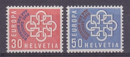 Switzerland 1959 PTT Conference 2v ** Mnh (44198) - Europese Gedachte