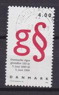 """Denmark 1999 Mi. 1214     4.00 Kr Grunggesetz Buchstabe """"g"""" Paragraphenzeichen - Dänemark"""