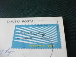 STORIA POSTALE  FRANCOBOLLO VENEZUELA AUTOPISTA DEL ESTE CITY HIGHWAY CARACAS - Venezuela