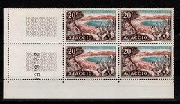 Coin Daté - YV 981 N** Ajaccio Coin Daté Du 22.6.54 - Coins Datés