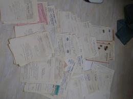 Lot 0,750kg ~ 180 Documents Commerciaux, Adm. 1931-33, F-Comté, Vosges. Paris, Allemagne..etc - France