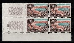 Coin Daté - YV 981 N** Ajaccio Coin Daté Du 20.6.55 - Ecken (Datum)
