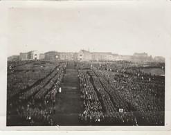 Armée Allemande :  Rassemblement De Nombreux Soldats Avec étendard  - ( Format 12cm X 9 Cm ) - Lieu à Définir - War, Military