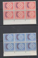 Switzerland 1959 PTT Conference 2v Bl Of 6 ** Mnh (44198A) - Europese Gedachte