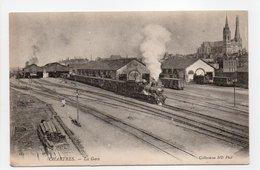 - CPA CHARTRES (28) - La Gare (avec Train à Vapeur) - Photo Neurdein 181 - - Chartres