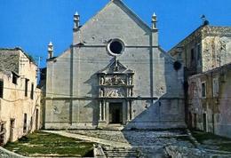 Isole Tremiti - Isola Di S.nicola - La Cattedrale - Formato Grande Non Viaggiata – E 13 - Foggia