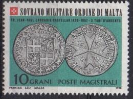 PIA - SMOM - 1978 : Antiche Monete Dell' Ordine - (UN 149-54) - Malte (Ordre De)