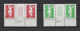 FRANCE.  YT   N° 2806-2820  Neuf **  1993 - 1989-96 Marianne Du Bicentenaire