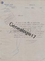 01 1314 BOURG  EN BRESSE  AIN 1914 GRAND CAFE Ets A. DALMAIS Biere De Munich Et Blonde De La Meuse Rue Alsace Lorraine - France