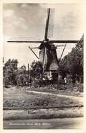 Windmolen Molen Windmill Moulin à Vent  Korenmolen Anno 1823 Wilnis     Echte Fotokaart     L 593 - Windmolens