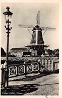 Windmolen Molen Windmill Moulin à Vent  Putten Gelderland Het Hert      Echte Fotokaart     L 594 - Windmolens