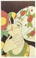Coppia Di Innamorati, Riproduzione Da Orig., Reproduction, Illustrazione, L. Scattina Illustratore (E27) - Coppie