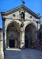 Monte S.angelo - Foggia - Basilica Di S.michele - La Facciata - Formato Grande Non Viaggiata – E 13 - Foggia