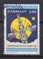 Denmark 1996 Mi. 1117  5.00 Kr Kopenhagen Kulturhaupstadt 1996 Schloss Castle Christiansborg - Dänemark
