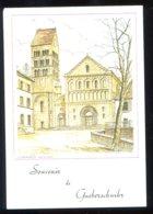 CPM Neuve 68 Souvenir De GUEBERSCHWIHR  Place De L'Eglise D'après Jean Schubert - France