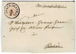"1858, "" JOACHIMSTHAL "", Kpl. , Luxus! , # 2323 - 1850-1918 Empire"