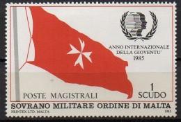 PIA - SMOM - 1985 -  Anno Internazionale Della Gioventù  -  (UN  241) - Sovrano Militare Ordine Di Malta