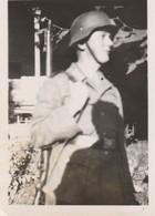 Photo Militaire : Armée Allemande :  Soldats Avec Arme Sur L'épaule ( Format 6,4cm X 9cm ) - Voi Au Dos - War, Military