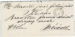 """1864, """" NEUSIEDEL Am See """" , Burgenland, # 2325 - 1850-1918 Empire"""