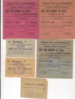 VOEDSELBONNEN GEMEENTE ZWIJNDRECHT EERSTE WERELDOORLOG-NATIONAAL HULP-EN VOEDINGSKOMITEIT - Guerre 1914-18