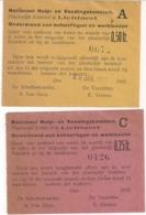 VOEDSELBONNEN GEMEENTE LICHTAART EERSTE WERELDOORLOG-NATIONAAL HULP-EN VOEDINGSKOMITEIT - Guerre 1914-18