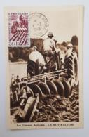 FRANCE Agriculture, Landwirtschaft, Agricultura, Yvert N°823 Carte Maximum Premier Jour 1949 - Agriculture