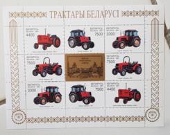 BIOLORUSSIE Agriculture, Landwirtschaft, Agricultura, Tracteurs, YVERT N°217/20. ** MNH - Agriculture